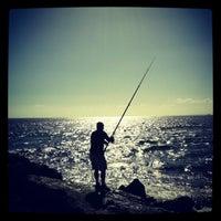 Photo taken at Praia do CDS by Vitor C. on 6/10/2012