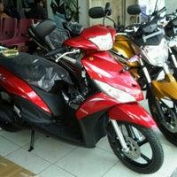 Photo taken at Yamaha kuta by Chandra M. on 2/21/2012