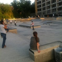 Photo taken at House Park Skatepark by Aaron F. on 4/5/2012