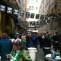 Photo taken at The Irish Bank by Addy on 3/17/2012