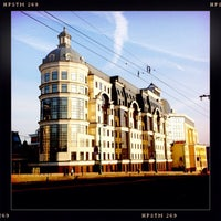 Photo taken at Baltschug Kempinski by Dmitry B. on 3/16/2012