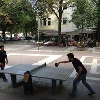 Das Foto wurde bei Kinderspielplatz Ludwigkirchplatz von Patrick am 8/14/2012 aufgenommen