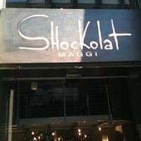 Photo taken at Chocolat by Teresa C. on 5/2/2012