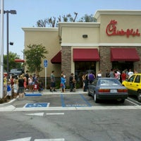 Photo taken at Chick-fil-A Lakewood by Brian on 8/1/2012