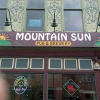 Photo taken at Mountain Sun Pub & Brewery by Thomas M. on 7/14/2012