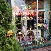 Photo taken at Tom's Restaurant by Erik M. on 3/25/2012