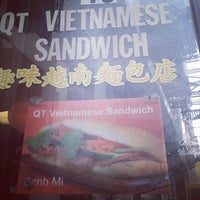 Photo taken at QT Vietnamese Sandwich by Mark L. on 7/14/2012