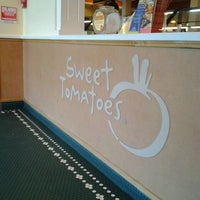 Photo taken at Sweet Tomatoes by Jessica L. on 4/3/2012