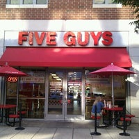 Photo taken at Five Guys by Cj G. on 8/26/2012