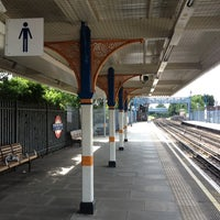 Photo taken at South Woodford London Underground Station by Lolla M. on 6/14/2012
