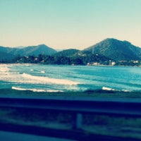 Photo taken at Praia Grande by Adilson R. on 7/1/2012