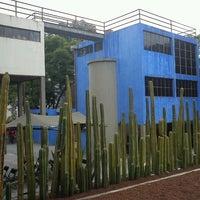 Photo taken at Museo Casa Estudio Diego Rivera y Frida Kahlo by Daniel C. on 8/17/2012