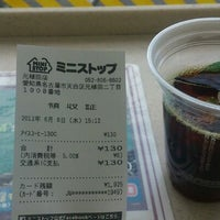 Photo taken at Ministop by つじやん 銀. on 6/6/2012