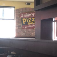 Photo taken at Shakey's Pizza Parlor by Ashley C. on 2/10/2012