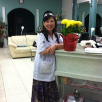 Photo taken at Angelique Nail Spa by Sharon R. on 2/25/2012