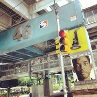 Photo taken at SEPTA MFL 46th Street Station by Christopher B. on 6/13/2012