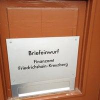 Photo taken at Finanzamt Friedrichshain-Kreuzberg by Sebastian F. on 4/18/2012