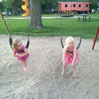 Photo taken at Dell Rapids Park by Jessica S. on 6/5/2012