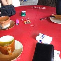 Photo taken at General Luna Café by Prime on 8/14/2012