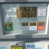 Photo taken at Chevron by Bryan A. on 4/7/2012