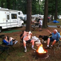 Photo taken at NASCAR RV Resorts at Adirondack Gateway by Eric D. on 7/11/2012