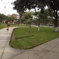 Photo taken at Parque F. De las casas by Rob Miguel ר. on 7/20/2012