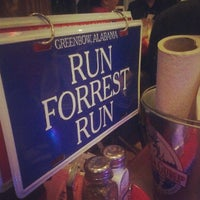 Photo taken at Bubba Gump Shrimp Co. by Francesca R. on 8/21/2012