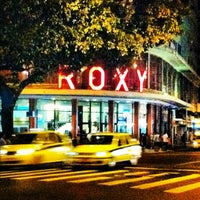 Photo taken at Cinema Roxy by scovino t. on 2/23/2012
