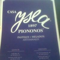 Photo taken at Casa Ysla by Diana R. on 7/21/2012