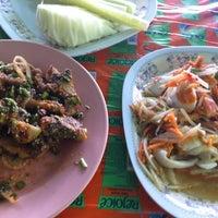 Photo taken at ส้มตำ (ข้างสมาคมชาวนา) ท่าเรือ by eric n. on 8/12/2012