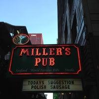 Photo taken at Miller's Pub by Adriel L. on 7/30/2012
