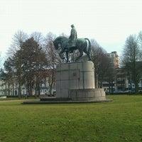 Photo taken at Zuidpark (Koning Albert I-park) by Chapman R. on 2/27/2012