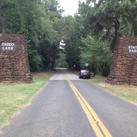 Photo taken at Caddo Lake State Park by Michael V. on 8/21/2012