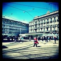 Photo taken at Paradeplatz by Claudio B. on 4/26/2012