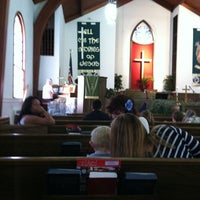 Photo taken at Trinity United Methodist Church by Joy B. on 7/15/2012