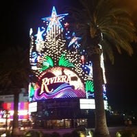 Photo taken at Riviera Hotel & Casino by Marion on 7/2/2012
