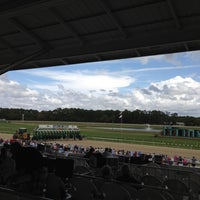 Photo taken at Tampa Bay Downs by Keelie E. on 3/11/2012