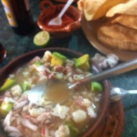 Photo taken at Pozole Estilo Guerrero by Antonio M. on 4/4/2012