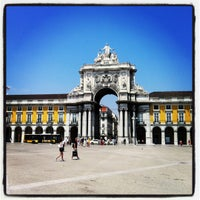 Photo taken at Praça do Comércio (Terreiro do Paço) by Marco B. on 7/26/2012