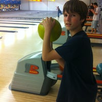 Photo taken at Buffaloe Lanes Cary Bowling Center by Apex E. on 5/26/2012
