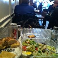Photo taken at Kiva's by Filiz O. on 4/17/2012