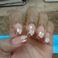 Photo taken at Be Be Nails by Sasha Bunny M. on 2/4/2012