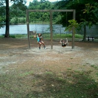 Photo taken at Gibsons Pond Park by Elena C. on 6/4/2012