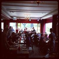 Photo taken at Café Victoria by Erik T. on 5/19/2012