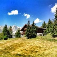 Das Foto wurde bei Bellwald - Ihr Schweizer Ferienort von Snowest am 8/20/2012 aufgenommen