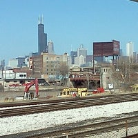 Photo taken at CTA - Halsted by Matt S. on 3/14/2012
