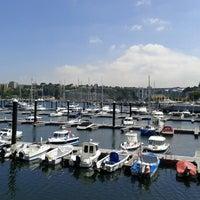Photo taken at Douro Marina by Gabriela C. on 6/19/2012