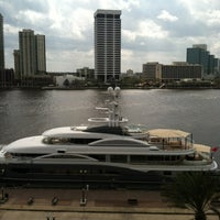 Photo taken at Hyatt Regency Jacksonville Riverfront by WaltBabyLuv on 2/23/2012