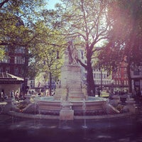 Photo taken at Leicester Square by Javi Z. on 9/7/2012