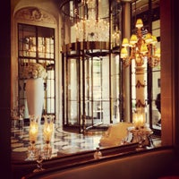 Photo taken at Le Meurice by Лиля С. on 5/14/2012